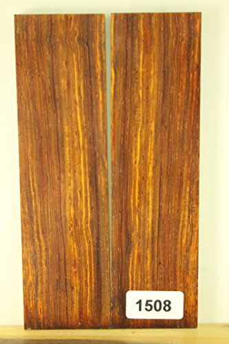 Cocobolo Knife Scales (WOOD - ONE-OF-A-KIND KNIFE SCALES / GUN GRIPS , CRAFT SUPPLIES / PAYNE BROS (1508 cocobolo))