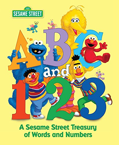 - ABC and 1,2,3: A Sesame Street Treasury of Words and Numbers (Sesame Street)