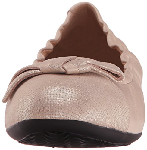 GEOX Zapatos bailarina para mujer, color gold, marca, modelo Zapatos Bailarina Para Mujer D LOLA 2FIT Gold