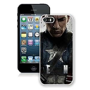 Captain America iPhone 5 5S Cases 4 White