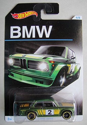HOT WHEELS EXCLUSIVE BMW SERIES GREEN BMW 2002 4/8