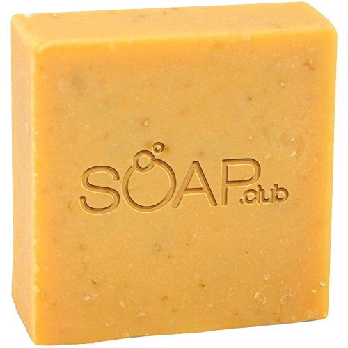 Cherry Almond Natural Soap with Coconut Oil 5oz (1 Pack)