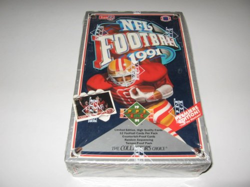 1991 Upper Deck Football Low Series Box (Upper Deck Football)