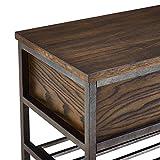 """Stylistics Castro Storage Bench, 47"""" x 18"""" x"""