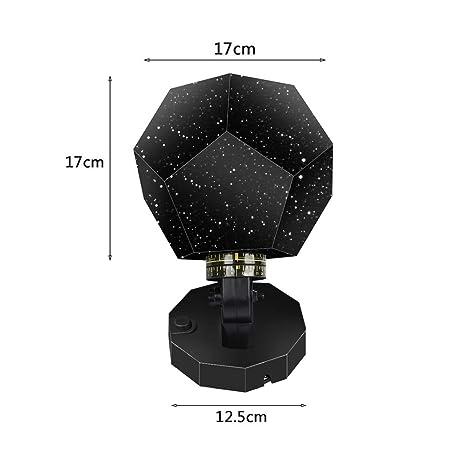 Luz nocturnaLámpara Led Estrella Proyector Lámpara Astronómica ...