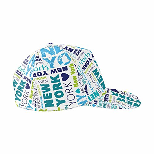 InterestPrint I Love My New York Adjustable Baseball Cap Hat