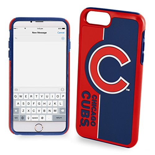 Forever Collectibles iPhone 8/7 Dual Hybrid Bold Case - MLB Chicago Cubs (Chicago Cubs Collectibles)