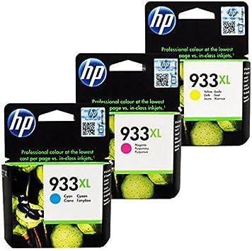 Hp - 932xl/933xl pack cartucce nero+ciano+giallo+magenta per ...