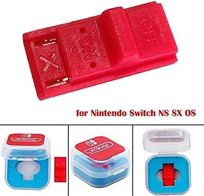 rosemaryrose DN Clip De Papel para Nintendo Switch RCM Tool RCM SX OS Short Circuit Tools Uso: para Modificar El Archivo Jugar GBA/FBA Y Otro Simulador: Amazon.es: Hogar