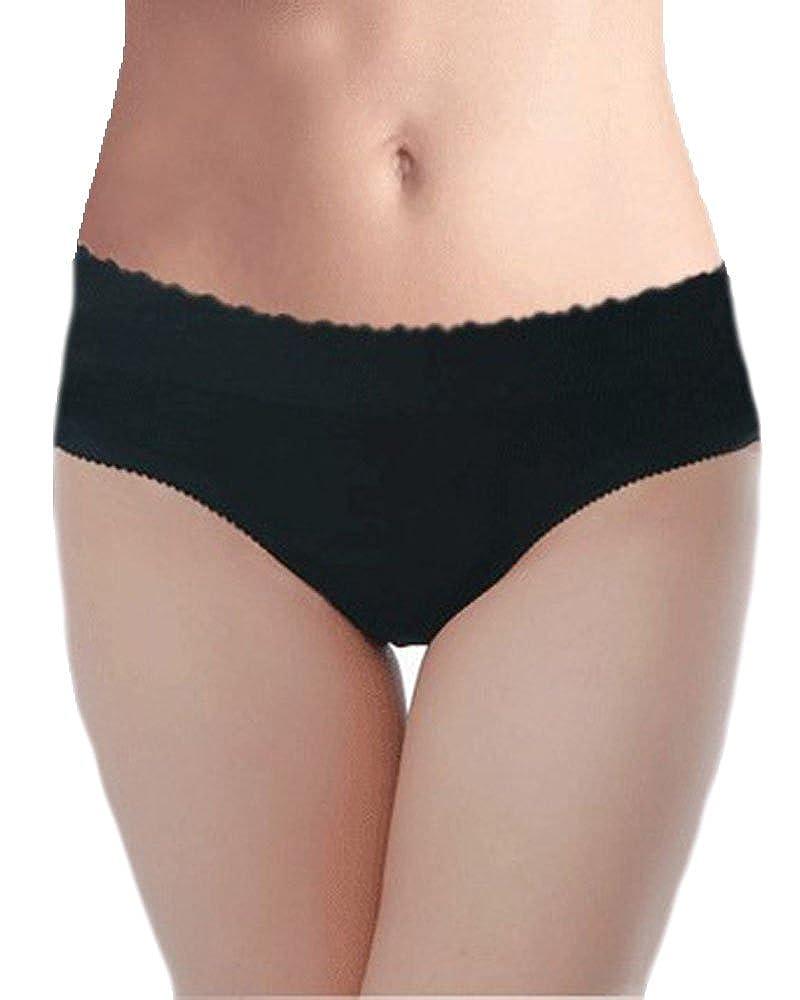 cc5af7ad2 DODOING Women Padded Panties Seamless Bottom Panties Buttocks Push up Hip  Enhancer Shaper Underwear at Amazon Women s Clothing store
