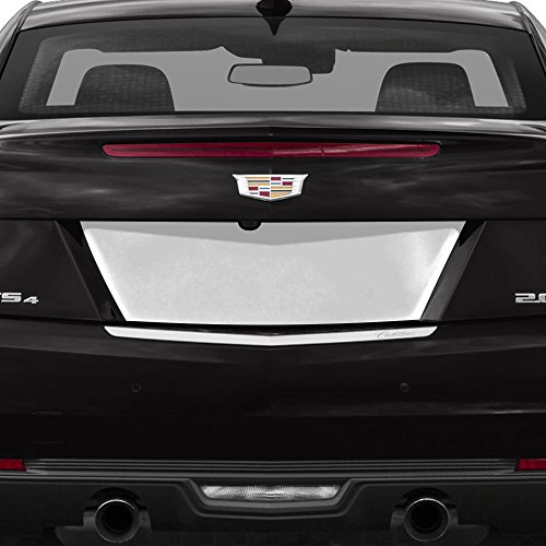 Auto Reflections 1pc License Plate Backplate for 2013-2018 Cadillac ATS 2 Door