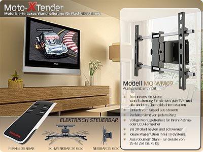 MAQMA MQ WM09 Motor XTender TV Wandhalterung Mit: Amazon.de: Elektronik