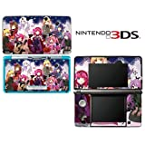 Rosario+Vampire Decorative Video Game Decal Cover Skin Protector for Nintendo 3Ds (not 3DS XL)