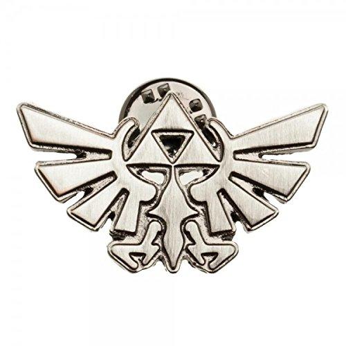 Legend of Zelda Triforce Lapel Pin]()