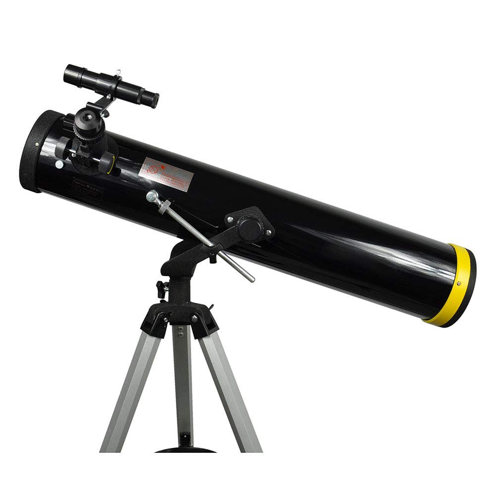 Astronomical Telescope, High-Definition High-Definition, Look at The Star View Mirror, Suitable for Children, Beginners, Cultivate Interest, Gift Black by TJSCY