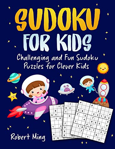 Pdf Entertainment Sudoku for Kids: Challenging and Fun Sudoku Puzzles for Clever Kids