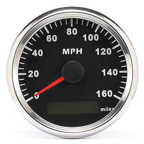 ELING MPH GPS Speedometer Odometer 160MPH With Backlight 85mm 12V//24V