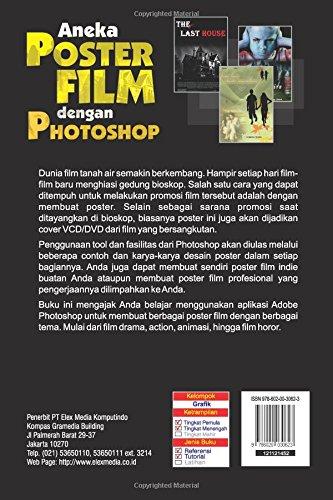 Aneka Poster Film Dengan Photoshop Indonesian Edition