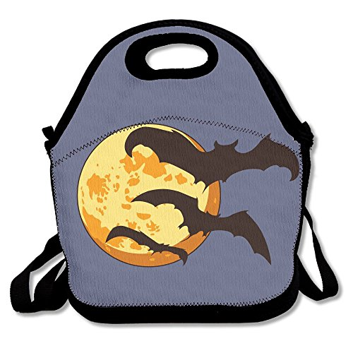 Lunch Bag Tote Bag Lunch Organizer Lunch Holder Lunch Container Halloween Bat (2).png]()