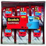 Scotch Heavy Duty Packaging Tape, 2 Inches x 800 Inches, 12 Rolls