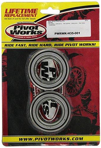 New Pivot Works Wheel Bearing Kit PWRWK-H35-001 For Honda TRX 500 FM IRS 15-17 ()