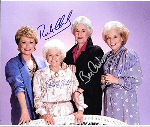 The Golden Girls Cast Signed Autographed 8 X 10 Reprint Photo - Mint Condition