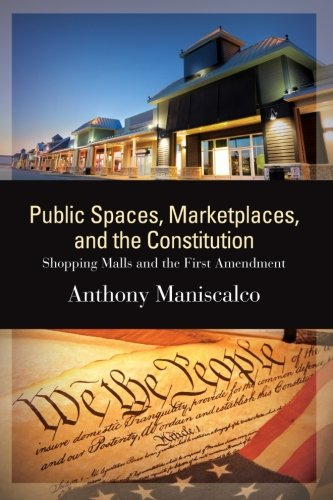 Public Spaces, Marketplaces, and the Constitution: Shopping Malls and the First Amendment (SUNY series in American - New York City Malls Shopping