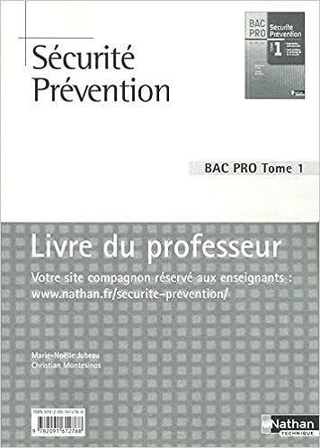 Lire en ligne Sécurité Prévention pdf