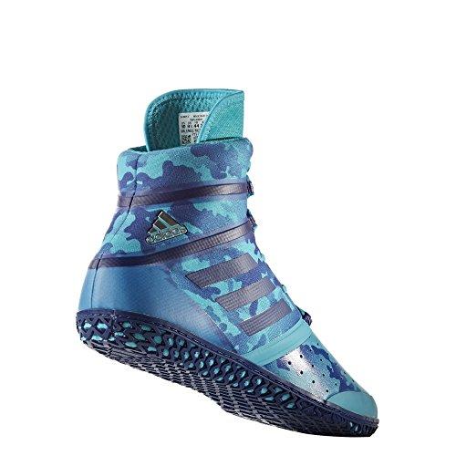 Adidas Invloed Worstelen Schoen - Heren Turquoise Camodruk