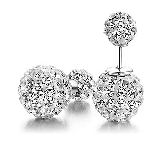 Carfeny Sterling Earrings Reversible Crystal product image
