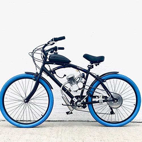Bicycle Motor Works - Blue Bruiser Cruiser Motorized Bike Kit