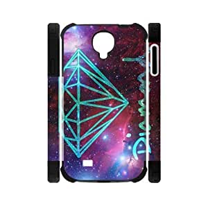 Canting_Good Diamond Custom Dual-Protective Case Shell Cover for Samsung Galaxy S4 I9500 3D