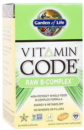 Garden of Life Vitamin Code Vitamin B Complex, 60 Capsules