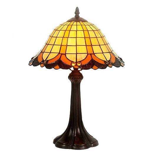 Lámparas de mesa estilo Tiffany, 12 pulgadas, vidrieras ...