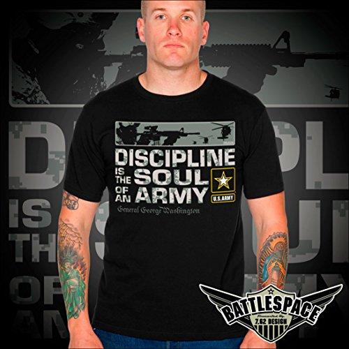 7 Discipline Men Design camiseta 62 Negro Battlespace Army 7IPrz87xwq