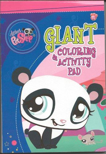 Littlest Pet Shop Giant Coloring & Activity Pad - Frogs & - Coloring Pet Littlest Shop