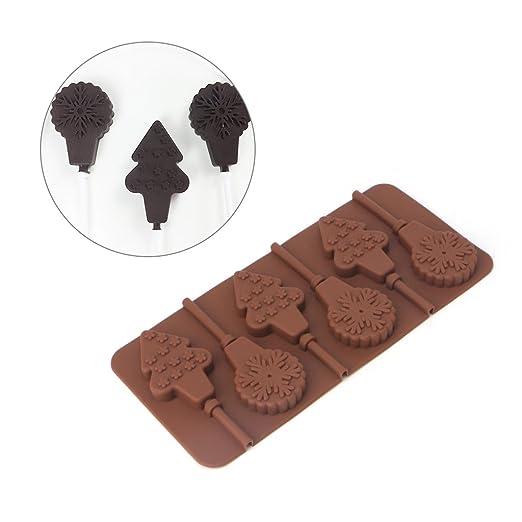 FKY - Molde de silicona para tartas, chocolate, fondant, glaseado ...