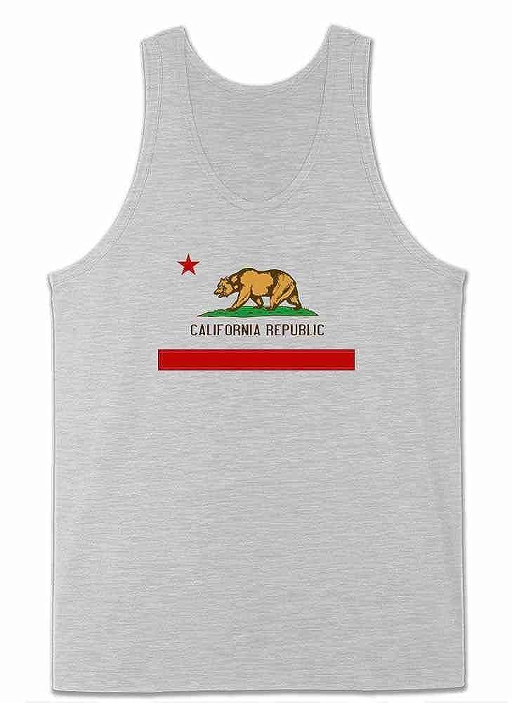 Tank Top Tote Bag California Republic Calexit Flag Womens Tee Shirt