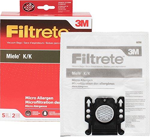 3M Filtrete Miele K/K Synthetic Vacuum Bag