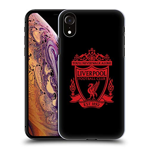 - Official Liverpool Football Club Black 1 Crest 2 Hard Back Case Compatible for iPhone XR