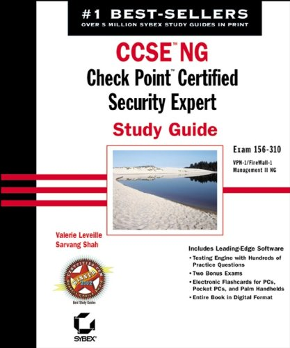 CCSE NG: Check Point Certified Security Expert Study Guide: Exam 156-310 (VPN-1/FireWall-1; Management II ()