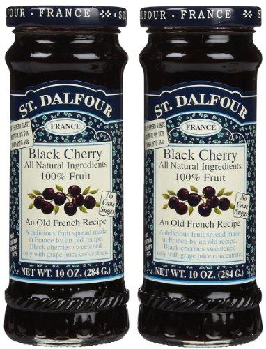 St. Dalfour Black Cherry Conserves - 10 oz - 2 pk