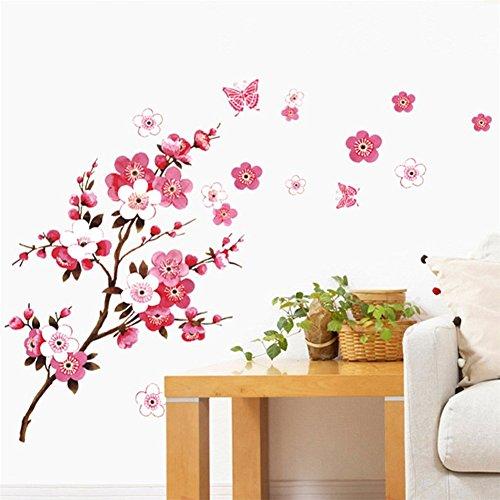BIBITIME Blossom Stickers Butterfly Sticker