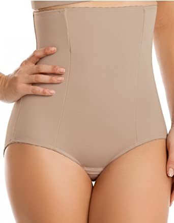 828710575f Leonisa High-Waisted Girdle with Butt Lifter Benefit at Amazon ...