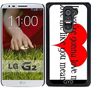 Funda para LG G2 - Amarme Como Lo Que Significa by loki1982