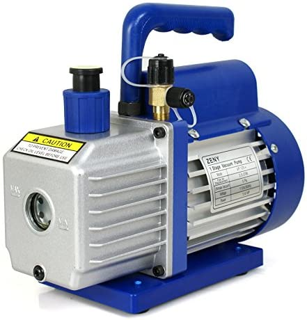 Smartxchoices 1//4 HP Single Stage Rotary Vane Vacuum Pump 3.5 CFM Air Conditioner Refrigeration HVAC Air AC A//C R410a 110V