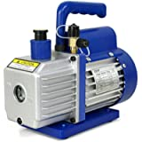 ZENY 3,5CFM Single-Stage 5 Pa Rotary Vane Economy Vacuum Pump 3 CFM 1/4HP Air Conditioner Refrigerant HVAC Air Tool…