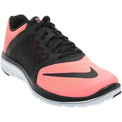 12a48427d7e Nike Women s FS Lite Run 3 Running Shoe Lava Glow White Black Size 11 M US   Amazon.in  Shoes   Handbags