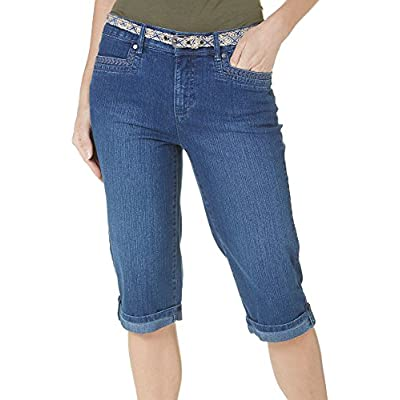 Gloria Vanderbilt Womens Marnie Skimmer Capris at Women's Clothing store