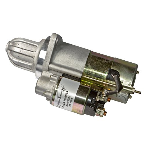 ELM Products Compatible with Mercruiser 470 OMC Volvo I/O Starter 12V 9 Tooth CW Rotation 30120 30456 18-5901 18-5907 ()